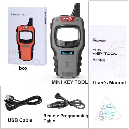 [UK/US/RU Shipping]V2.35 VVDI Mini Key Tool Global Version Including US EU ME SE VVDI Key Tester Remote Maker Support IOS Android Mobiles