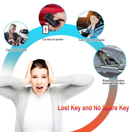 Xhorse XKBU01EN Wire Remote Key Buick Flip 4 Buttons English 5pcs/lot