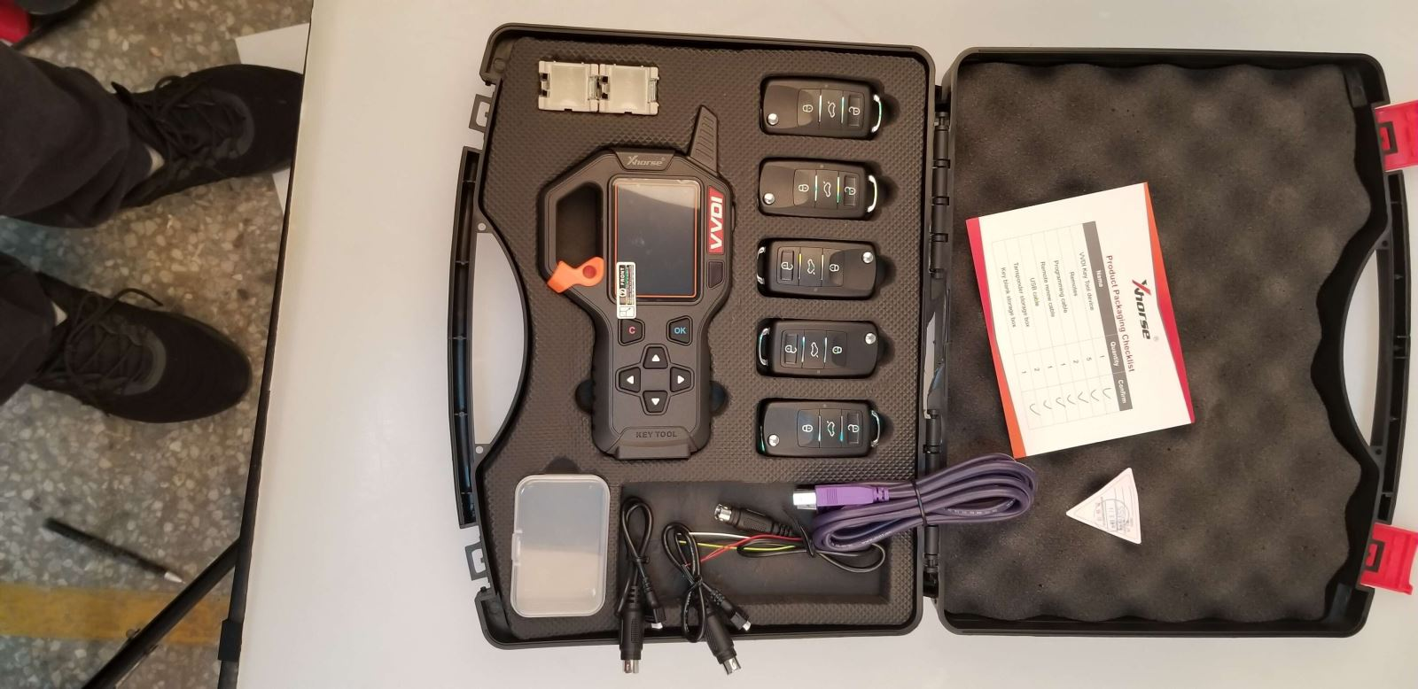 VVDI Key tool full package