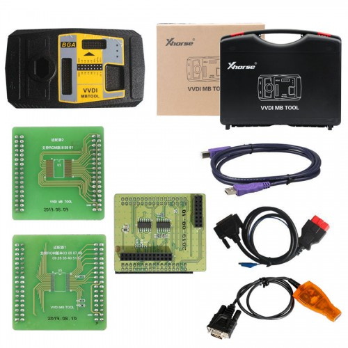 [UK/EU/US Ship] V5.1.0 Xhorse VVDI MB Tool With 1 Year Tokens + MINI VVDI KEY TOOL