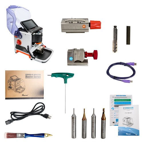 V3.0.3 Xhorse Condor XC-Mini Plus Key Cutting Machine Get Free VVDI MINI Key Tool