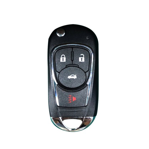 Xhorse XKBU02EN Wire Remote Key Buick Flip 4 Buttons English 5pcs/lot