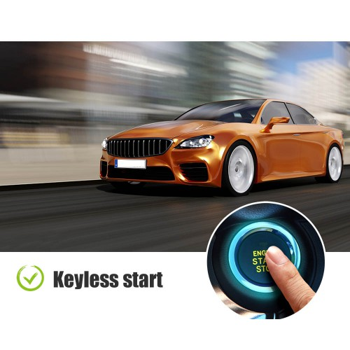 [UK/EU/US Ship] Xhorse XSCS00EN Smart Remote Key Colorful Crystal 5 Buttons Keyblank Inside Black English 5pcs/lot