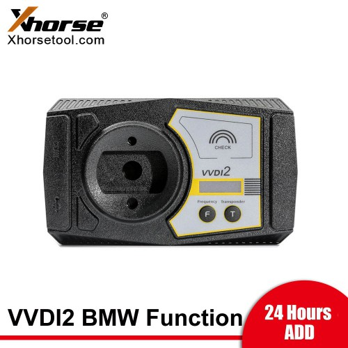 [24 Hours ADD] Xhorse VVDI2 Complete BMW Software Authorization BMW OBD+CAS4+FEM