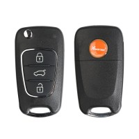 [UK/CZ/US Ship] Xhorse XKHY02EN Wire Remote Key Hyundai Flip 3 Buttons English 5pcs/lot