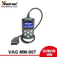[UK/CZ/US Ship] Xhorse V2.2.9 Iscancar VAG MM-007 Diagnostic and Maintenance Tool