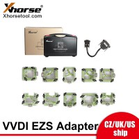 [UK/US Ship] Xhorse VVDI Prog EZS adapters 10pcs for Mercedes Benz EIS/EZS