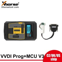 Xhorse VVDI PROG Programmer plus Land Rover KVM Adapter without Soldering