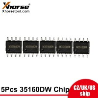 [UK/EU/US Ship] Xhorse 35160DW Chip for VVDI Prog Programmer replaced M35160WT Adapter 5pcs/lot