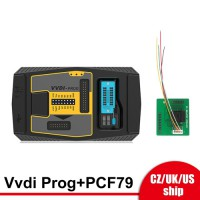 [UK/EU/US Ship] Xhorse V5.0.1 VVDI PROG Programmer + PCF79XX Adapter V2 Update free