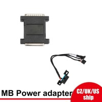 [UK/EU/US Ship] Xhorse XDMB10EN VVDI MB Tool Power adapter work with VVDI Mercedes W164 W204 W210 for Data Acquisition
