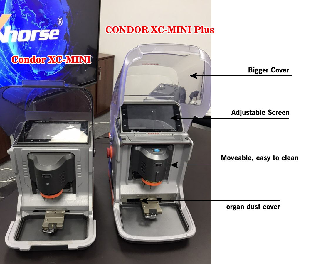 Condor XC-MINI PLUS VS Condor XC-MINI