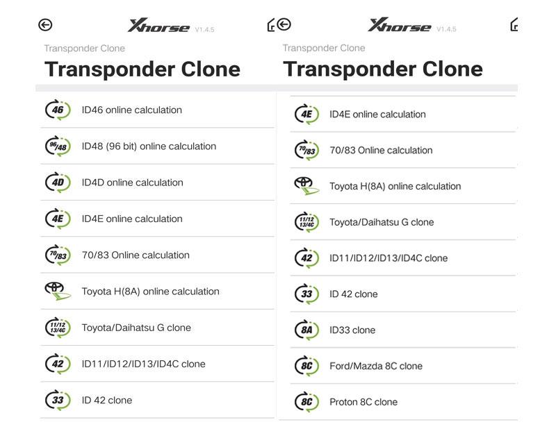 vvdi mini keytooll transponder clone