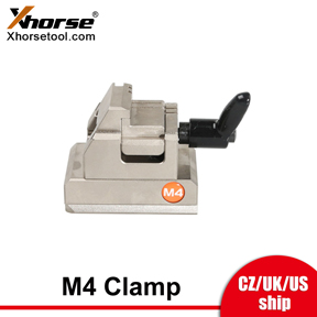 [UK/EU/US Ship] Xhorse XCMN15EN M4 Clamp for Household Keys with Condor XC-MINI Plus/Dolphin XP-005