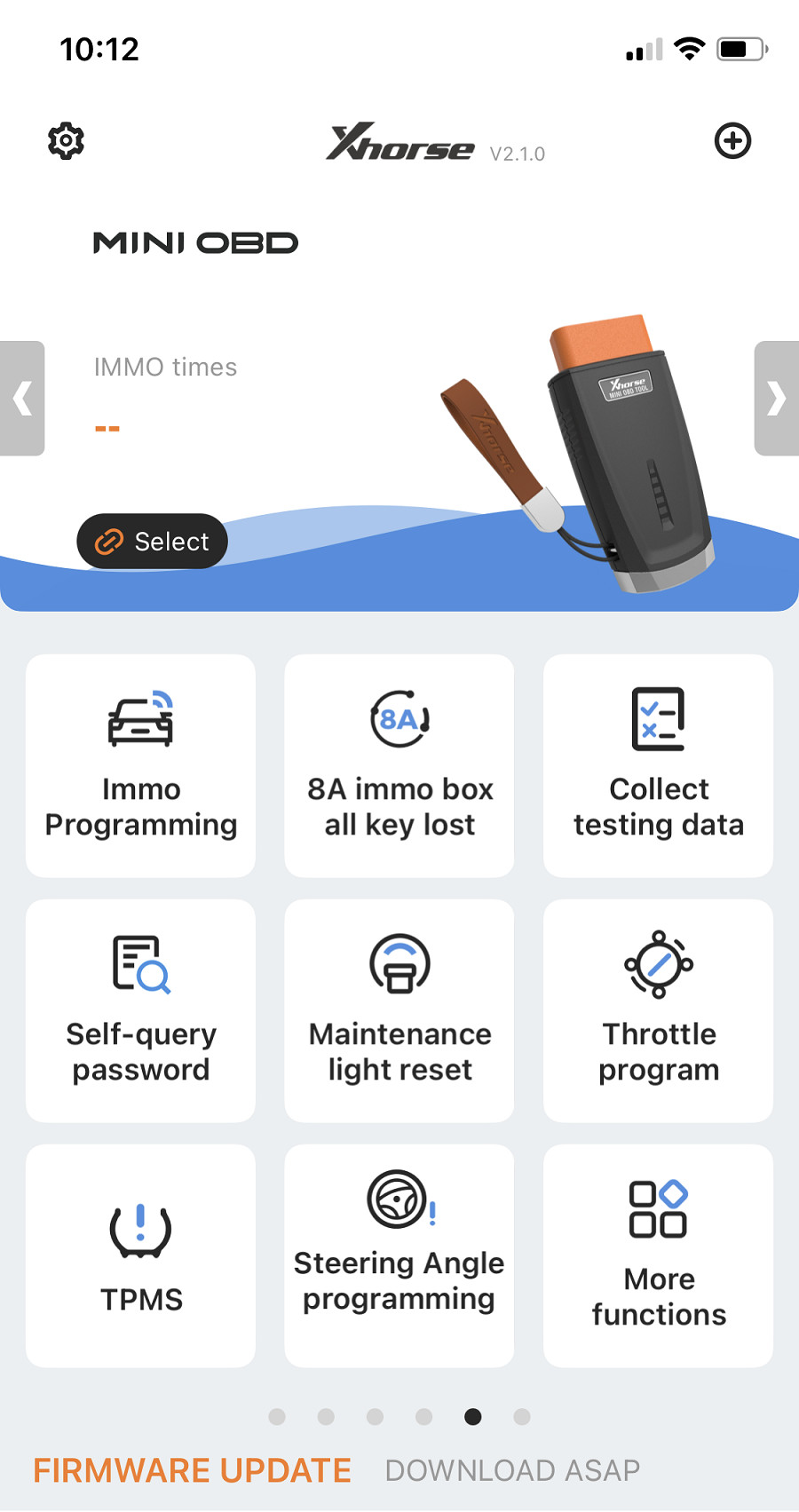 MINI OBD Tool app list