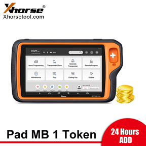 [24Hours Add] 1 Token for VVDI Key Tool Plus Mercedes Password Calculation